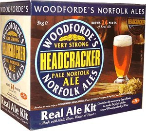 Home Brew Ingredients - Woodforde's Head Cracker - 24 Pint Beer Kit Balliihoo Homebrew