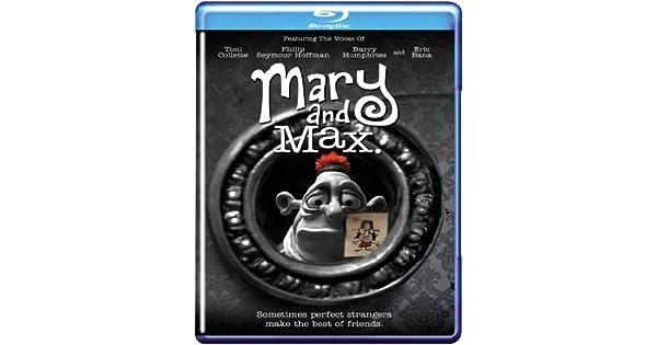 Amazon Com Mary And Max Blu Ray Toni Collette Philip Seymour Hoffman Eric Bana Adam Elliot Cine Y Tv