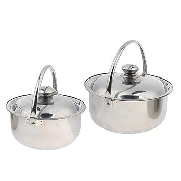 B Baosity Colgante para Cocina Tapa de Olla Hervir Hornillos de Acampada Utensilios de Cocina Aire