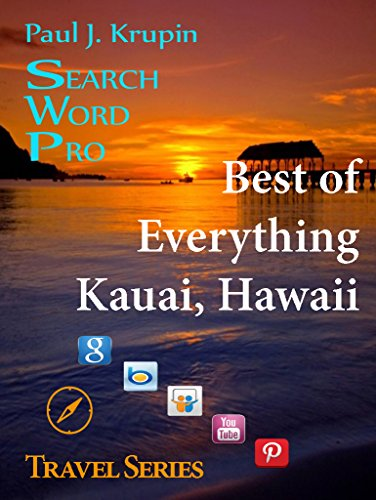 Kauai Hawaii - The Best of Everything - Search Word Pro (Travel Series) (Best Bed And Breakfast Kauai)