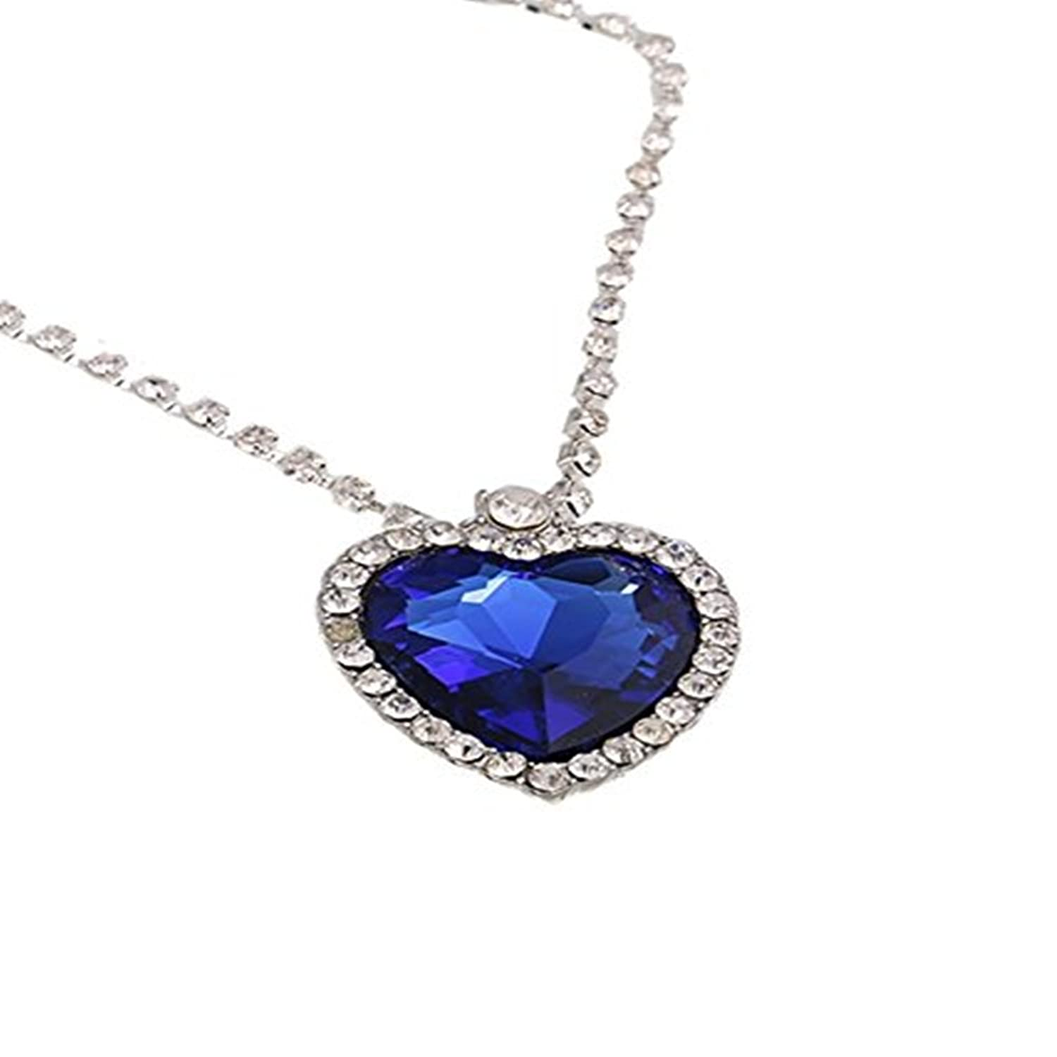 Buy caratcube sapphire blue austrian crystal heart of the ocean buy caratcube sapphire blue austrian crystal heart of the ocean titanic pendant for women ctc 15 online at low prices in india amazon jewellery store aloadofball Image collections