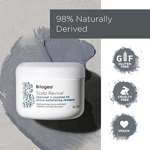 Briogeo - Scalp Revival Charcoal + Coconut Oil Micro-Exfoliating Shampoo - Combats and Prevents a Dry, Flaky, Itchy Scalp, 8 oz by Briogeo (Image #5)