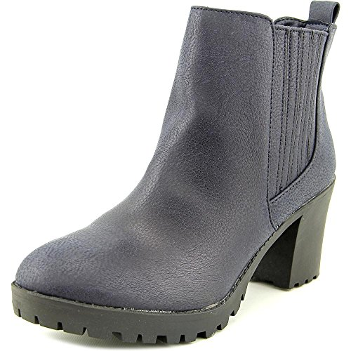 Ankle Almond Navy Womens Toe Girl Nina Boots Fashion Material HwBqXtB