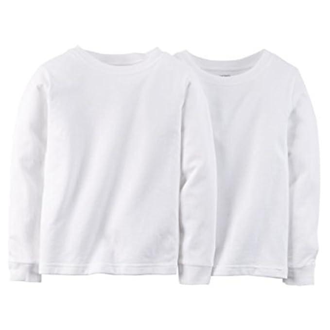 Amazon.com  Carters Little Boys 2-pack Cotton Undershirts (8 902fd7a0c0d