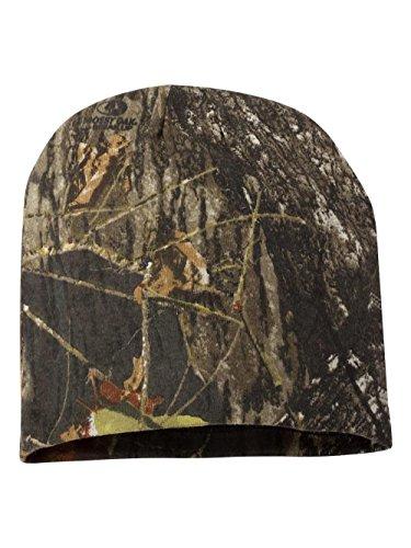 Outdoor Cap CMK-405 Camo Knit Beanie, Mossy Oak Break-up/Black, (Foul Weather Hats)