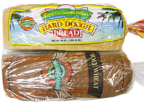 Jamaican Style Hard Dough Bread & Whole Wheat Hard Dough Bread - French Wheat Whole Toast