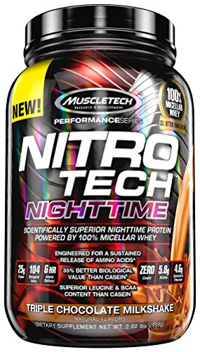 MuscleTech Nitrotech Protein Powder Chocolate