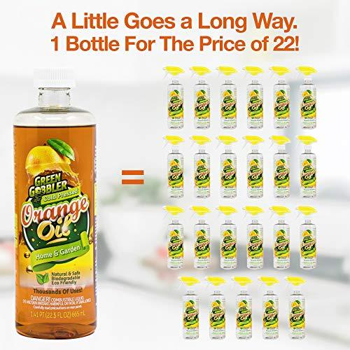 Green Gobbler All Natural Orange Oil Concentrate - 22.5 oz (D-Limonene) by Green Gobbler (Image #5)