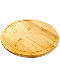 Win 10.5 Inch Premium Solid Bamboo Cutting Board Serving Tray | CB2000 deal