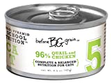 Merrick Before Grain #5 Quail Pate Style Cat Food, 3.2 Ounce Can (24 Count Case), My Pet Supplies