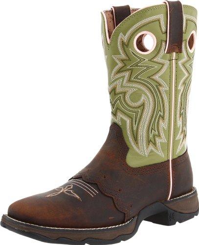 Women's Durango Square Toe Western Boots BROWN 9.5 M by Durango (Image #1)