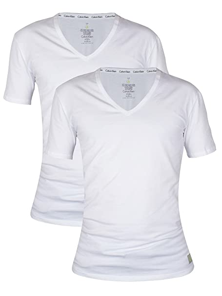 Calvin Klein - Camiseta - para Hombre Blanco Blanco
