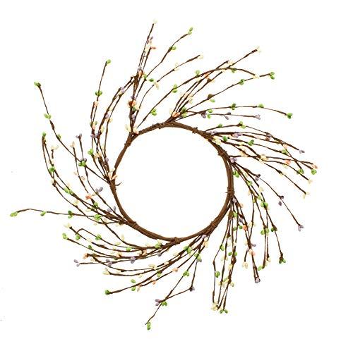 (KMJ Mixed Berries & Twigs Wreath, 10