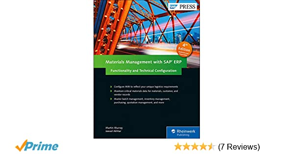 Amazon com: Materials Management with SAP ERP: Functionality