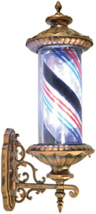 XGPT Luz Regístrate Al Aire Libre Barberos Polo LED Tiras Spinning ...