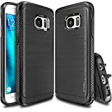 Galaxy S7 Case, Ringke [Onyx] [Resilient Strength] Flexible Durability, Durable Anti-Slip, TPU Defensive Case for Samsung Galaxy S7 - Black