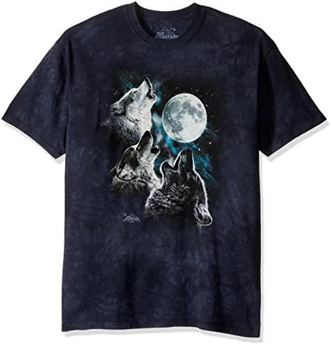 The Mountain Men's Three Wolf Moon T-Shirt
