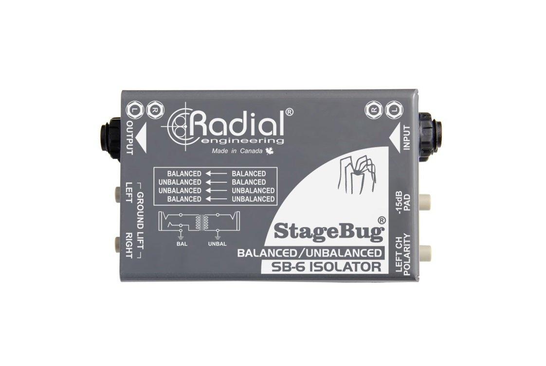 Radial Engineering StageBug SB-6 Isolator DI