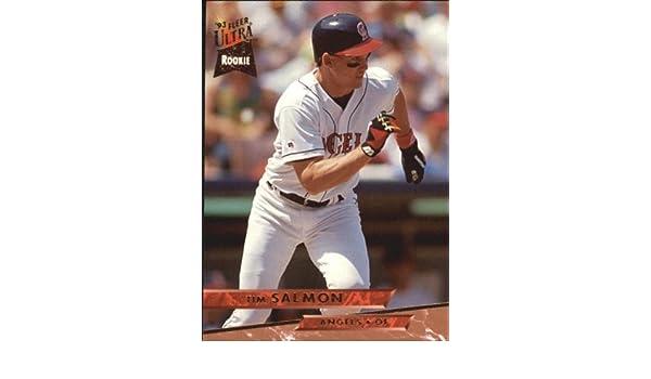 Amazoncom 1993 Ultra Baseball Card 523 Tim Salmon Mint