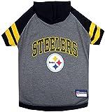 Pets First Pittsburgh Steelers Hoodie T-Shirt, Medium