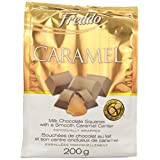 FREDDO Caramel Filled Chocolate Squares, 200-Gram
