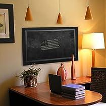 Rayne Mirrors American Made Attractive Blackboard/Chalkboard, 23