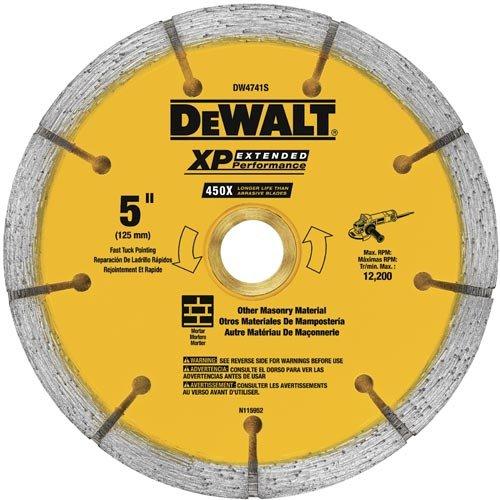 Sandwich Tuck Point - DEWALT DW4741S 0.250 XP Sandwich Tuck Point Blade, 5-Inch