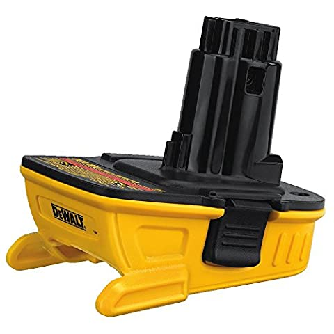 DEWALT DCA1820 Dewalt Battery Adapter for 18V Tools, 20V (Dewalt 20 Volt Cordless Tools)