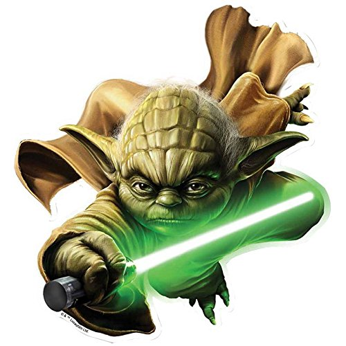 Star Cutouts Official Star Wars Yoda Wall Art