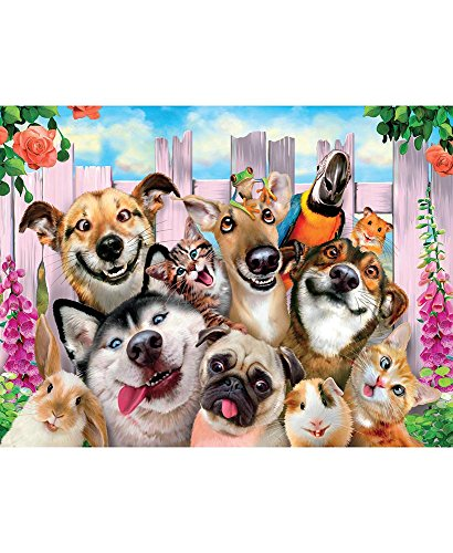 550-Pc. Pet Backyard Selfie Puzzle