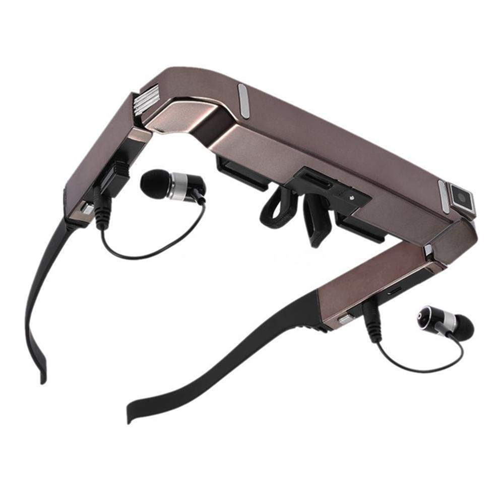 Smart Bluetooth Android WiFi Glasses 80-Inch Widescreen Portable Video 3D Glasses Private Theater with Camera Headset Three-in-One