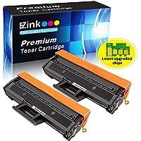 E-Z Ink (TM) Compatible Toner Cartridge Replacement for Samsung 111S 111L MLT-D111S MLT-D111L to use with Xpress SL-M2020W Xpress SL-M2070W Xpress SL-M2070FW Printer (Black, 2 Pack)