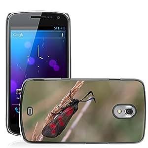 Print Motif Coque de protection Case Cover // M00126472 Bug Polilla hierba Lámina De La Hierba // Samsung Galaxy Nexus GT-i9250 i9250