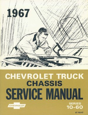 1967 Chevy Chevrolet Truck Repair Shop Service Manual 67 (with Decal) ()