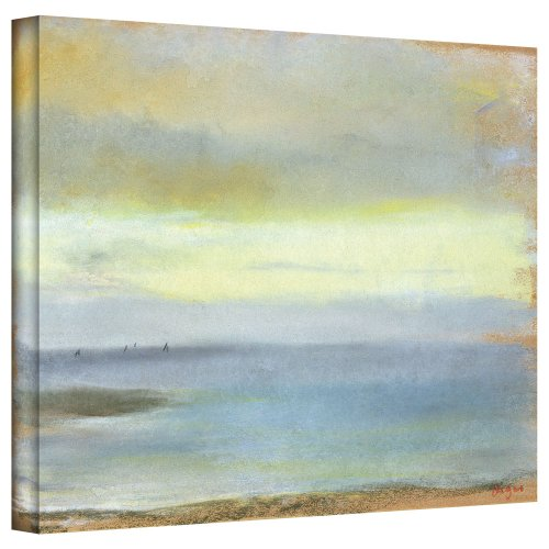 Sunsets Gallery (Art Wall 'Marine Sunset' Gallery-Wrapped Canvas Artwork by Edgar Degas, 24 by)