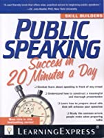 Public Speaking Success in 20 Minutes a Day Front Cover