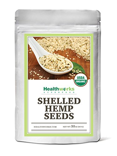 - Healthworks Organic Shelled Hemp Seeds 2lb