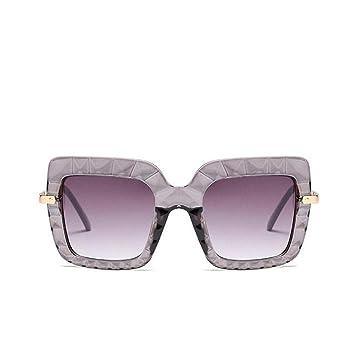 HYUHYU Diseñador De La Marca De Gran Tamaño Gafas De Sol ...
