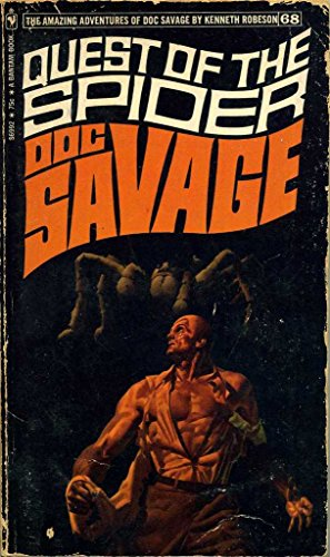 book cover of Quest of the Spider