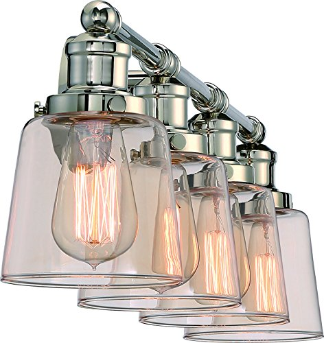 Luxury Industrial Chic Bathroom Vanity Light, Large Size: 9
