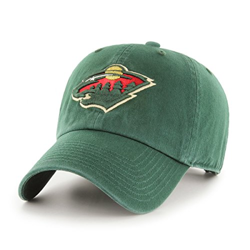 NHL Minnesota Wild OTS Challenger Adjustable Hat d38e19748