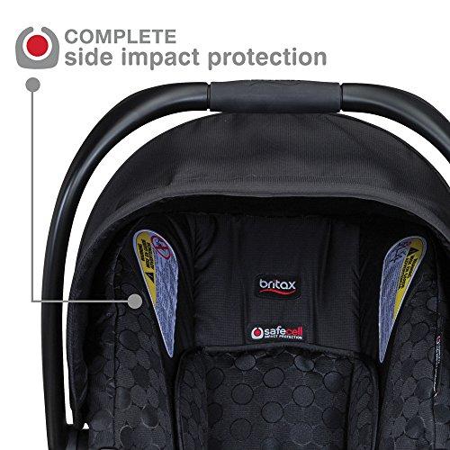 Britax B Safe  Infant Slate Strie Car Seat