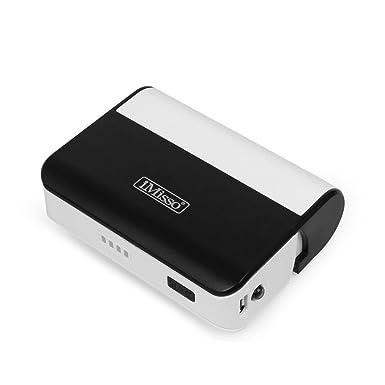 imisso LED cargador de batería portátil externa Power Bank ...