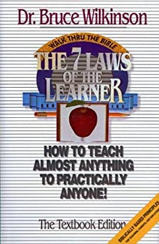 The Seven Laws of the Learner: How to Teach Almost Anything to Practically Anyone (Seven Laws of the Learner) 0880704640 Book Cover