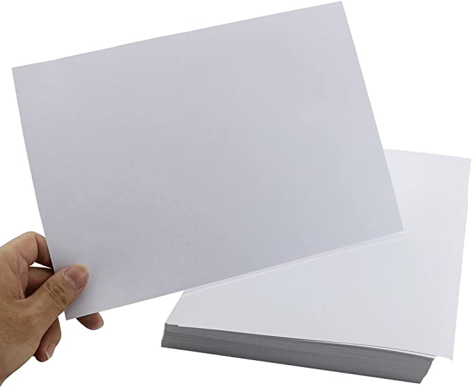 100Sheets Newbested White Watercolor Paper Cold Press Cut Bulk Pack for Beginning Artists or Students. 12 x 17 INCH 10 x 7 Inch