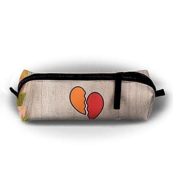 Amazon.com: Estuche para bolígrafo, diseño de corazón, con ...