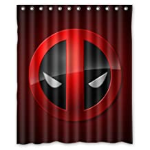 Surprised gift Deadpool Custom Shower Curtain 60 x 72 Inch Cover