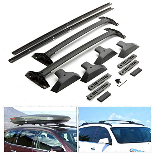 Roof Rack Cross Bar & Side Rail Package for 09-17 Chevrolet Traverse Factory Style Replacement 19244268