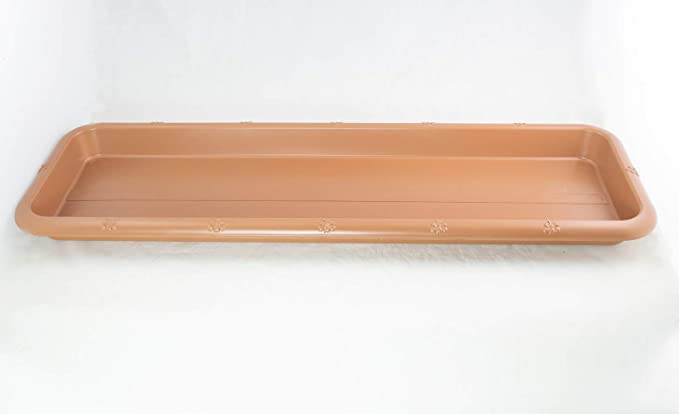 """12/"""" Japanese Narrow Rectangular Plastic Humidity Tray for Bonsai Tree /& Plants"""