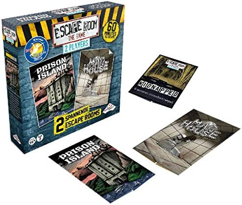Identity Games Escape Room The Game: 2 Player - Juego de Tablero: Amazon.es: Juguetes y juegos